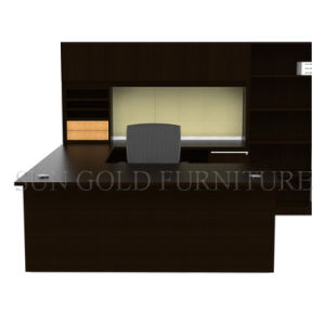 2015 U Shape Hot Selling Dard Brown Executive Desk (SZ-OD352) pictures & photos