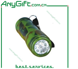Army LED Torch with Customized Logo pictures & photos