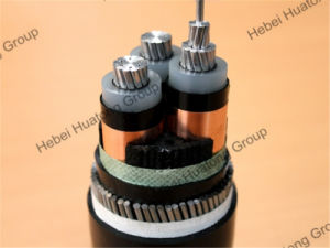 Medium Voltage Aluminum Conductor XLPE Insualted Swa Power Cable pictures & photos