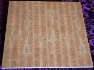 Tree Grain Wooden Art Parquet Flooring for Hotel Lobby (L005-1)