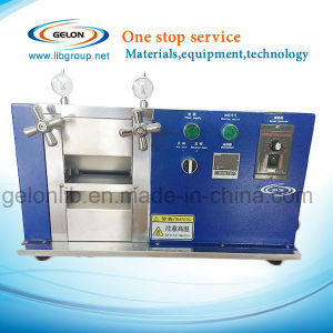 Small Heat Rolling Press Machine for Lithium Ion Battery Making Machine (GN-JS100) pictures & photos