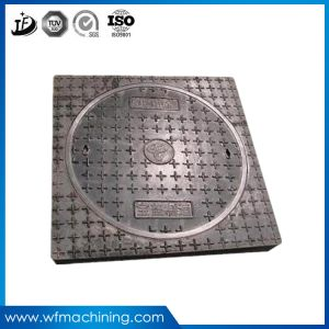 OEM Cast Iron Casting Sewer Manhole Cover for Roadway Safety pictures & photos