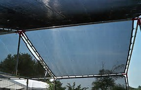 Sunshade Black Mesh Screen Cover pictures & photos