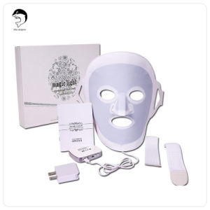 3 Color Blue/ Red/ Purple Professional LED Facial Mask/ LED Mask for Skin Care and Acne Treatment pictures & photos