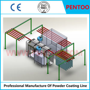 Automatic Powder Coating Line for Aluminum Wheel Hub pictures & photos