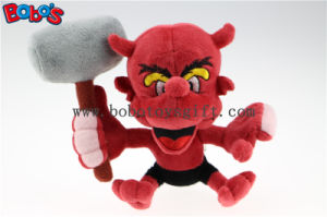 "7"" Custom Toy Costomized Made Stuffed Animal Red Devil Monster Toy Bos1128 pictures & photos"