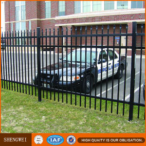 Hot Galvanized Ornamental Steel Picket Garden Fence pictures & photos