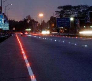 Solar LED Road Side Stud Light of Two Sides Lighting pictures & photos