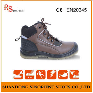 Non Leather Steel Toe and Steel Plate Work Boots RS94 pictures & photos