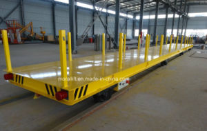Battery Powered Transfer Vehicle for Heavy Load Materials pictures & photos