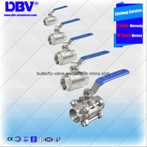 Stainless Steel Bsp/BSPT/BSPP/NPT Threaded Valves
