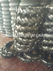 Hot Sell Qingdao Made Good Quality Durable Cheap Air Rubber Wheel (4.00-8) pictures & photos