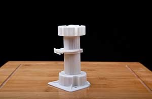 Smashing Adjustable Plastic Furniture Leg 8~10.5cm