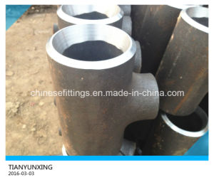 Butt Weld Seamless Alloy Steel Pipe Fitting Reducing Tee pictures & photos