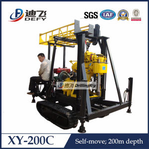 Crawler Mounted Core Drilling Rig for Geological Coring pictures & photos