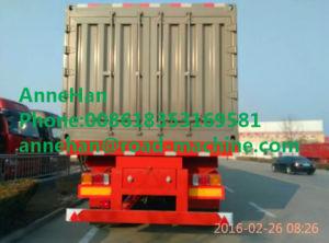 Shmc Van Type Semi Trailer Trucks 40 Ton Payload Semi Van Box Trailer pictures & photos