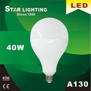Aluminum Plastic Heat Sink 40W A130 LED Bulb with 20000hrs Lifetime