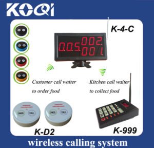 Kitchen Calling Waiter System with Keypad Transmitter pictures & photos