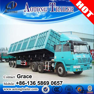 Heavy Duty 60 Tons Dump Tipping Truck Trailer for Sale pictures & photos