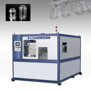 CE Approved with Ax Down Blow Series Automatic Blow Molding Machine (CSD-AX2-W-M-5L) pictures & photos