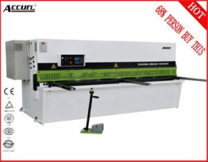 Accurl Brand Hydraulic Metal Shearing Machine QC12y-4X2500 E21 for Cutting Sheet Meta Plate pictures & photos