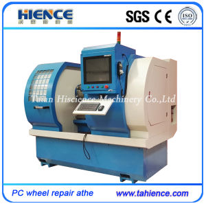 Diamond Cutting Automatic Wheel Repair Machines with Touch Screen Awr2840PC pictures & photos