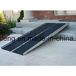 Single Fold Down Wheelchair Ramp for Disabled pictures & photos