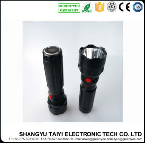 6W CREE LED Outdoor Emergency Strobe Aluminum Flashlight with Magnet pictures & photos