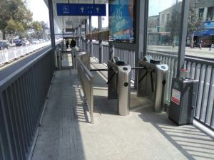 Waist Height Automatic Pedestrian Tripod Turnstile for Entrance Control System pictures & photos