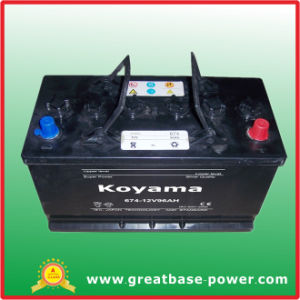 High Quality Car Battery 674-96ah 12V pictures & photos