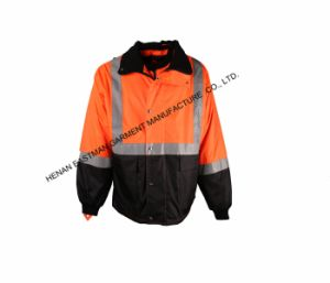 Men′s Outdoor Workwear Jackets Hi-Vis Waterproof Thermal Parka pictures & photos