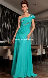 Gorgeous One Shoulder Ladies′ Formal Evening Dress