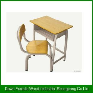 Wooden Chair and Desk for School Furniture pictures & photos