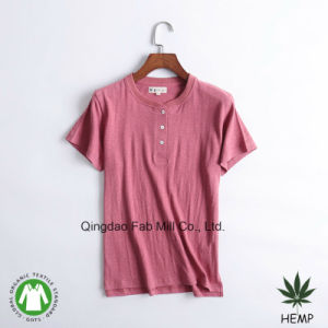 Women′s Hemp Organic Cotton T-Shirts (WSTB-01/02/03) pictures & photos