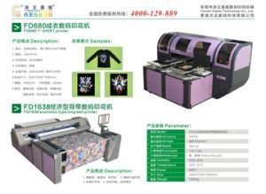Fd-1638 T-Shirt Printer with Water Based Ink pictures & photos