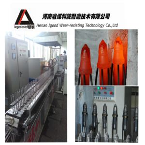Cladding Alloy Powder Layer Conical Picks Production Line pictures & photos