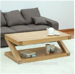 OA-4076 Solid Oak Z Shape Coffee Table New Model Dining Table pictures & photos