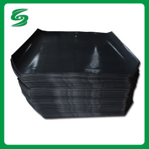 Black HDPE Plastic Slip Sheet Used as Traditional Plastic Pallet pictures & photos