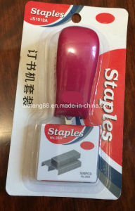 Mini Stapler Staples Set in Pouch Package pictures & photos