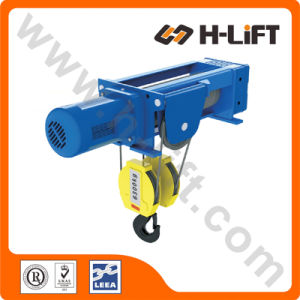 Foot-Mounted Hoist / Fixed Type Electric Wire Rope Hoist pictures & photos