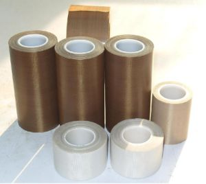 0.18mm PTFE Tape Teflon Tape Fiberglass Adhesive Tape for Hot Sealing pictures & photos