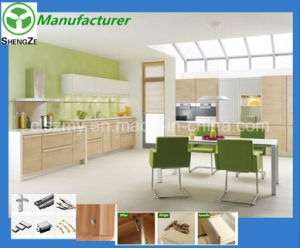 New Model Melamine Brance Door Kitchen Cabinet Simple Design pictures & photos