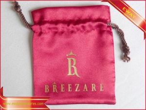 Jewelry Bag Satin Drawstring Bag Garment Packing Bag pictures & photos