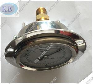 2.5′′ Back Connection Oil Pressure Gauge Manometer En837 pictures & photos