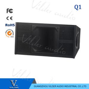 Q1 Full Range 2-Way Double 10′′ 800W Speaker Line Array pictures & photos