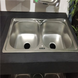 Kitchen Sink Stainless Steel Sink 7640 pictures & photos