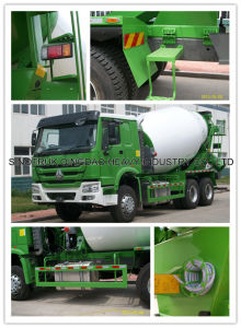 Sinotruk HOWO Mixer Truck 103 (ZZ1257N3841W) pictures & photos