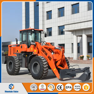 Chinese Articulated Mini Loader New RC Front End Loader for Sale (2.5t) pictures & photos