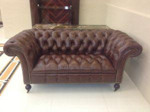 Luxury Hotel Sofa/Luxury Hotel Sitting Room Set/Leather Sofa (GLNS-001001) pictures & photos
