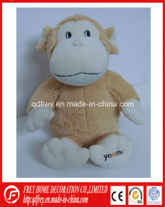 Fluffy Lavender Soft Heated Monkey Toy Gift pictures & photos